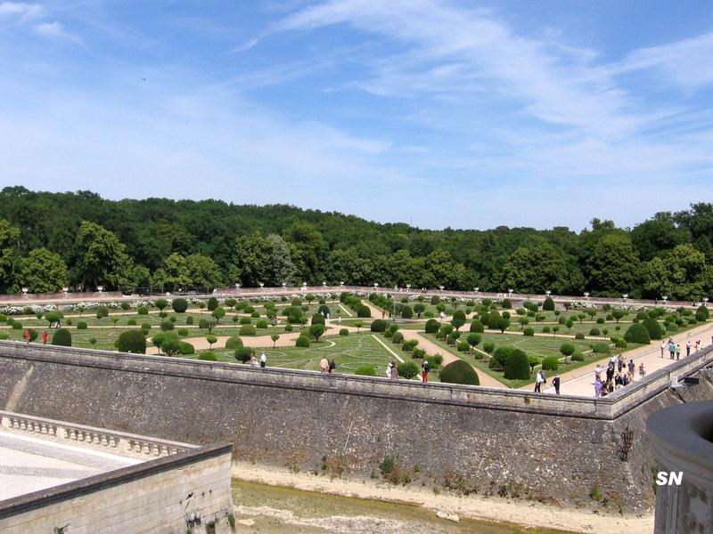Chateau de chenonceau for Les jardin de catherine